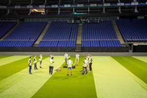 Artificial Grass for Star Sixes in O2 London